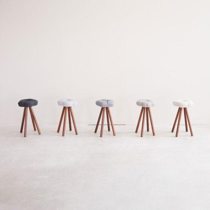 monaca stool -monotone-(モナカスツール  モノトーン)